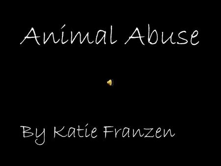 Animal Abuse I Need Love3:31Daylight For DeadeyesNew York Alternative By Katie Franzen.