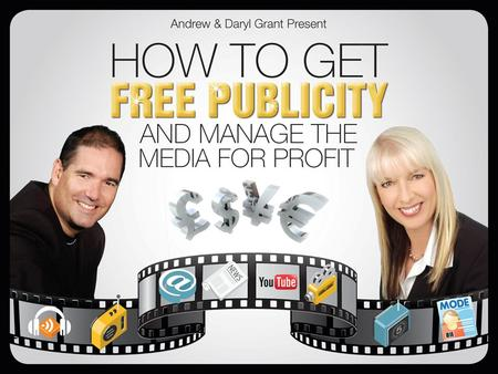 What is Free Publicity? Getting your product or service featured in a online or offline media for no cost.