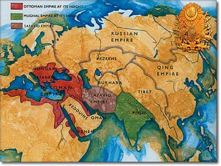 Ottoman Empire Anatolia Modern-day Turkey inhabited by militaristic nomadic tribes (Turks) around 1300 AD Military societies led by emirs Followed strict.