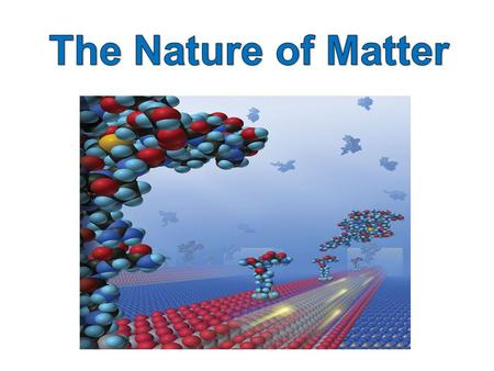 Chemistry is the study of the structure and behaviour of matter.
