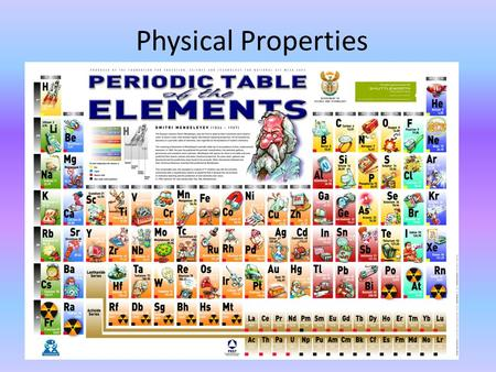 Physical Properties. What is Matter? Matter is – Anything that has mass and takes up space. – Ex. Solids, liquids, & gases. – ANYTHING = EVERYTHING.