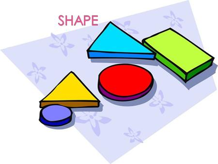  SHAPE-is two- dimensional and enclosed space- geometric, manmade or free form.