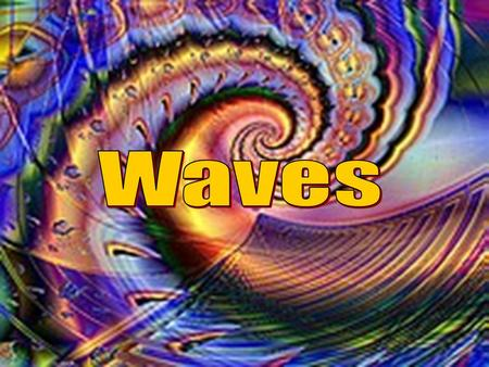 Description of Waves The simplest way of looking at waves is the concept of a wave as a harmonic oscillation. It can then be described by its: period.