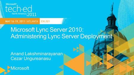 EXL321. Lync 2010 Planning tool+ Planning guides+ * new in LS 2010 + significant enhancements in LS 2010.