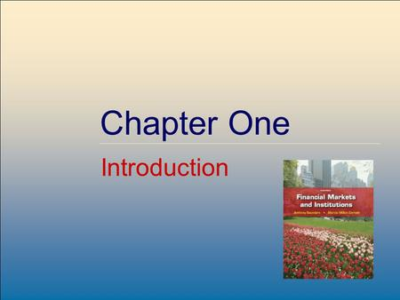©2009, The McGraw-Hill Companies, All Rights Reserved Chapter One Introduction.