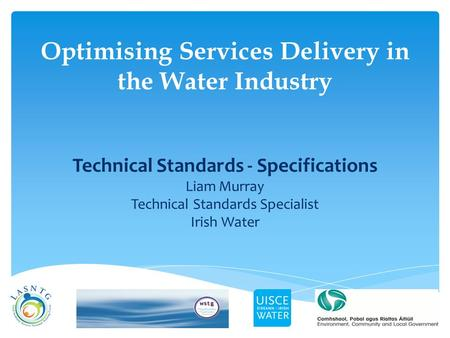 Optimising Services Delivery in the Water Industry