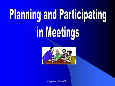 Planning and Participating