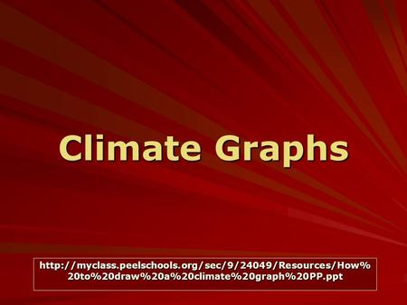Climate Graphs  20to%20draw%20a%20climate%20graph%20PP.ppt.