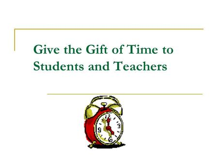 Give the Gift of Time to Students and Teachers. Leadership Leadership is at the heart of effective literacy instruction. Wolf, Borko, Elliot, and McIver.