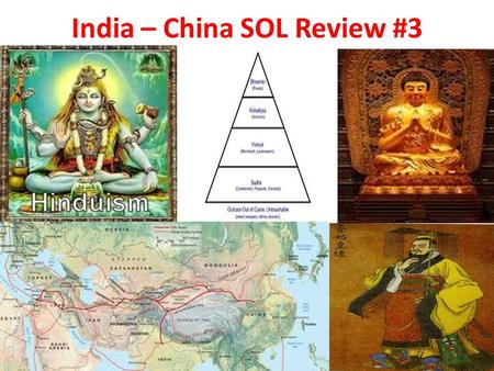 India – China SOL Review #3. River Valley Map Part 2: Indian Civilization 1.Physical barriers such as the HIMALAYAS, the Hindu KUSH, and the INDIAN Ocean.