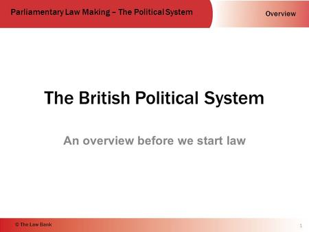 an overview of the british electoral system Summary - the main features of the norwegian electoral system content: main principles • direct elections - proportional representation • electoral.