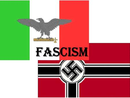 Fascism A Definition of Fascism Fascism is the totalitarian philosophy of government that glorifies the state and nation and assigns to the state control.
