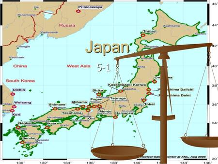 Japan 5-1. bomb Pearl The four largest Islands Volcanoes Japan being a mountainous region has 188 volcanoes- many are active Japan being a mountainous.
