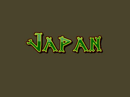 Japan Japan is an archipelago of over 6,000 islands Four largest islands are Hokkaido, Honshu, Kyushu, and Shikoku Most dominant feature: Mount Fuji.