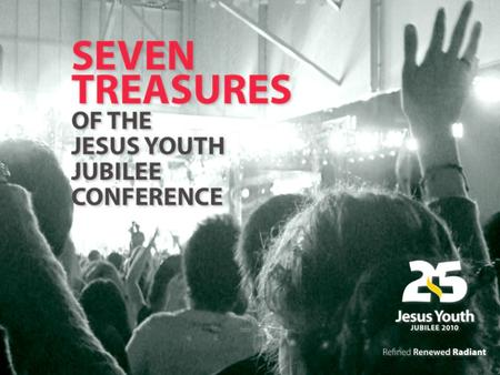 The Jesus Youth Jubilee conference 2010 brings together the largest ever group of Jesus Youth from around the world. A milestone in an eventful journey,