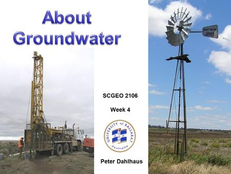 Peter Dahlhaus SCGEO 2106 Week 4. PrecipitationEvapotranspirationPond Storage Overland FlowThroughfall InterceptionInterception StorageInfiltrationSoil.