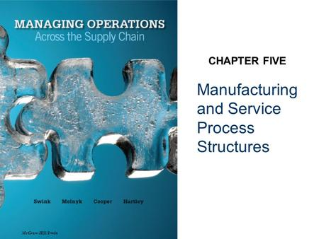 Manufacturing and Service Process Structures CHAPTER FIVE McGraw-Hill/Irwin.
