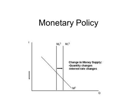 Monetary Policy. Purpose Monetary policy attempts to establish a stable environment so the economy achieves high levels of output and employment. How.