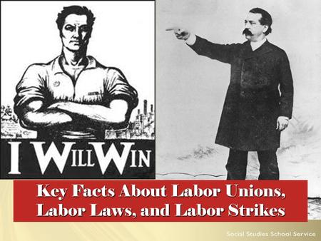 Key Facts About Labor Unions, Labor Laws, and Labor Strikes.