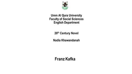 an analysis of the novel metamorphosis by understanding the mind of franz kafka The whole metamorphosis is only a way for kafka to built up this huge contrast between gregor and the rest of the family and with this contrast the book perfectly reflects the society in europe at that time.