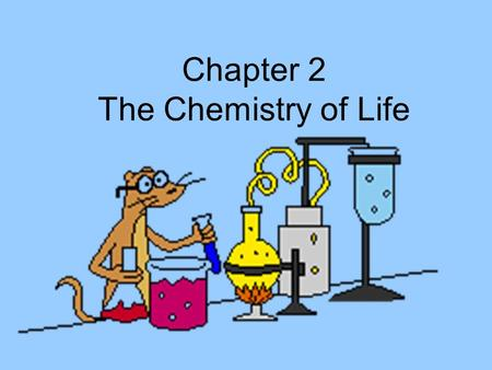 Chapter 2 The Chemistry of Life. atom I. atom-smallest part of an element.