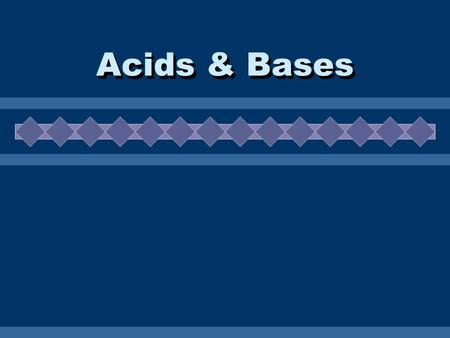 "Acids & Bases. Naming Review Binary Acids 1.Start the acid name with ""hydro-"" 2.Add the root of the second element with the suffix ""ic"" 3.Add the word."