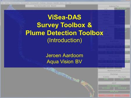 Survey Toolbox & Plume Detection Toolbox