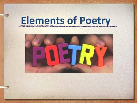 Elements of Poetry. POETIC DEVICES Alliteration Definition: When the beginning sounds of words repeat in a line of poetry or a sentence. Example: If.