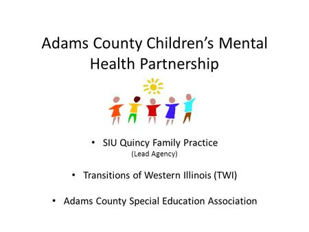 Adams County Children's Mental Health Partnership