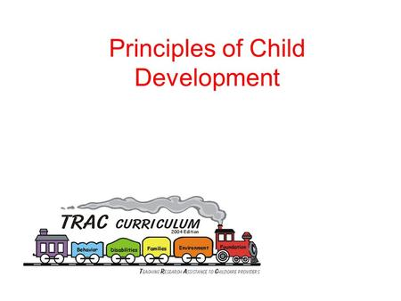 Principles of Child Development. Activity How children view the world.