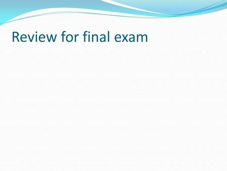 Review for final exam. Structure of essay Your thoughts?