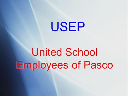 United School Employees of Pasco USEP. Child Abuse Investigations of Public School Employees.