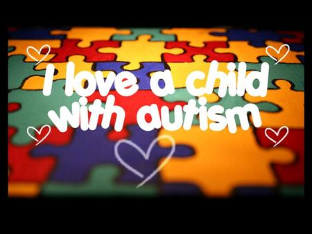 What is autism? Social deficiency Communication deficiency Restricted and/or repetitive behaviors or special interests 1 in 88 children in US diagnosed.