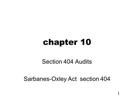 a primer on sarbanes oxley (sarbanes-oxley research paper example case study: a primer on sarbanes-oxley y a company to maintain synchronization with sarbanes-oxley act.
