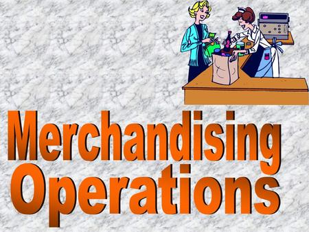 MERCHANDISINGMERCHANDISING rService Businesses - Make money by providing a service - Services can't be created and stockpiled for later sale. - An advantage.