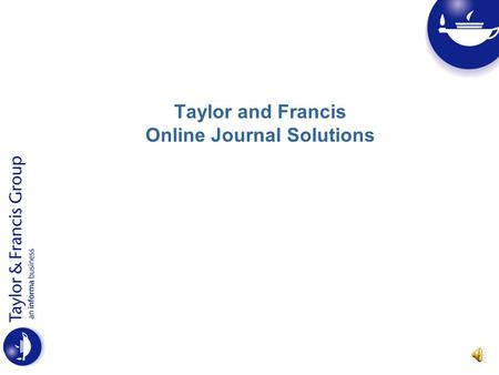 Francis and taylor journals