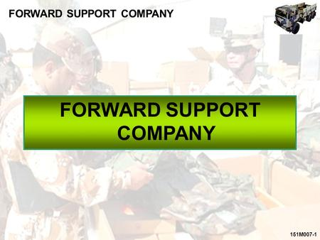 FORWARD SUPPORT COMPANY