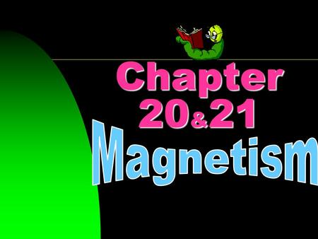Chapter 20 & 21. Like Poles of a magnet repel; unlike poles attract.