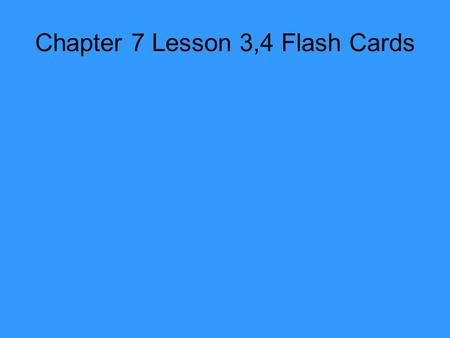Chapter 7 Lesson 3,4 Flash Cards. 1.Name one function of the female reproductive system.