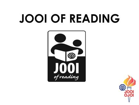 JOOI OF READING. Kids who love to read know how much fun it can be to open up a book and discover the story that waits on the pages inside! Aside from.