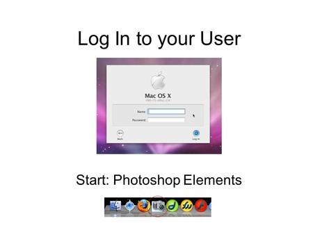 Log In to your User Start: Photoshop Elements. Start a new document 700x120 pixels with white background. Create a new layer by clicking Layer -> New.