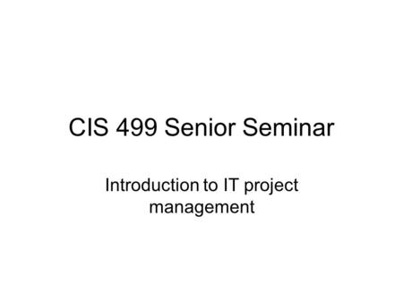 cis 499 project Cis 499 strayer project deliverable 5_ infrastructure and security - free download as pdf file (pdf), text file (txt) or read online for free.