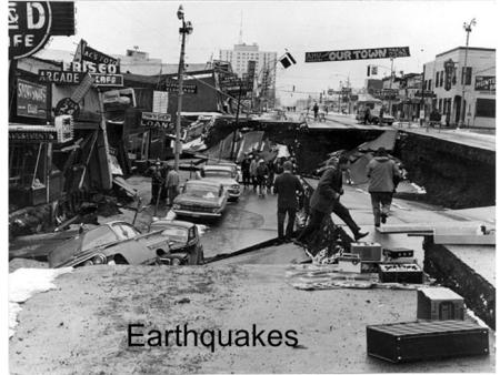 Earthquakes. If the Earth's a rockin'…. Deformation –Elastic deformation (rubber band)—object being deformed stretches building up potential energy Remove.