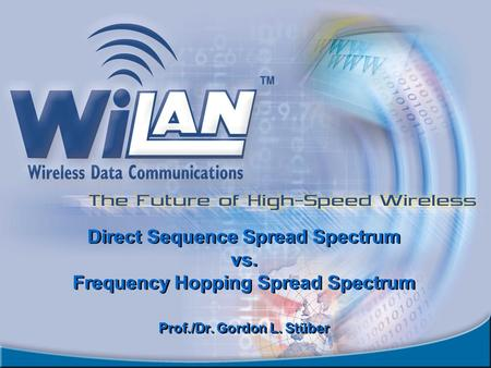 Direct Sequence Spread Spectrum vs