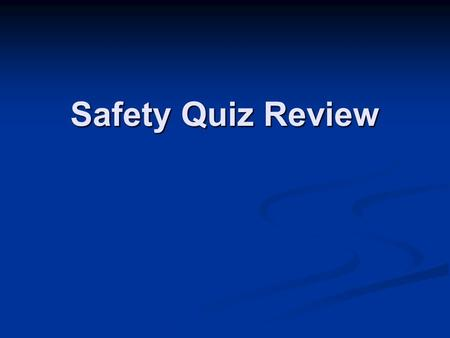 Safety Quiz Review. Flammable materials, like alcohol, should never be dispensed or used near _____. Flammable materials, like alcohol, should never be.