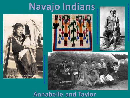 Navajo Indians Annabelle and Taylor