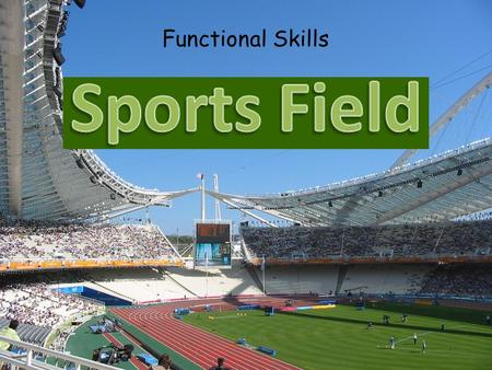 Functional Skills. For this project you will have two tasks to complete…