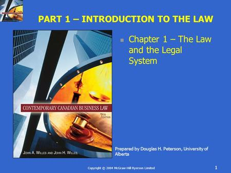 introduction to the canadian legal system Pearson canada corporate site about us, careers, news, contact and corporate information.