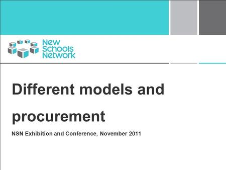Different models and procurement NSN Exhibition and Conference, November 2011.