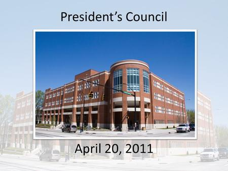 President's Council April 20, 2011. CPCC's Value and Challenges Community colleges are integral to workforce preparation and economic recovery What is.